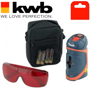 KWB Cross-Beam Laser Level (3 Line Modes)