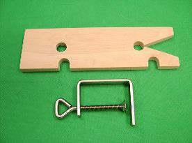 Fret Saw Table With Clamp