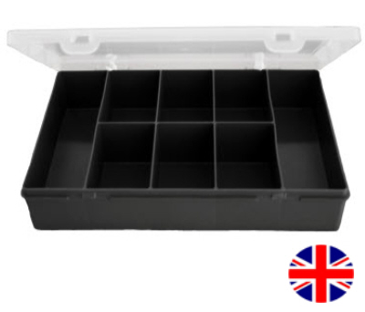 Deep Organiser Box (8 Division) British Made
