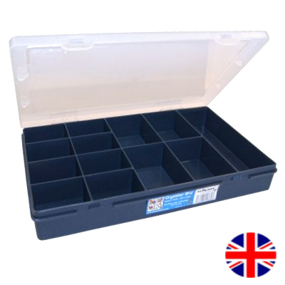 Organiser Box (13 Division) British Made
