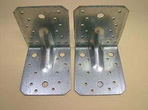 Reinforced Galvanised Structural Brackets