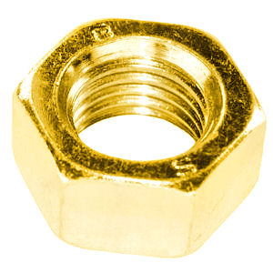 Hex Full Nuts - BA Brass
