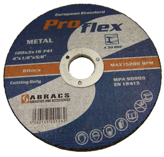 Metal Cutting Discs - Flat