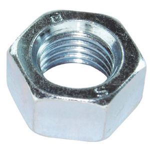 Hex Full Nuts - Metric BZP