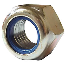 Nylon Insert Nuts - Metric BZP