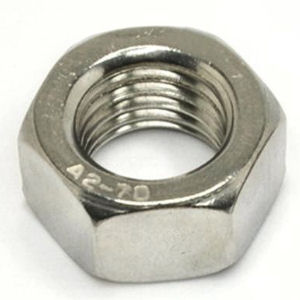 Hex Full Nuts -Metric Stainless