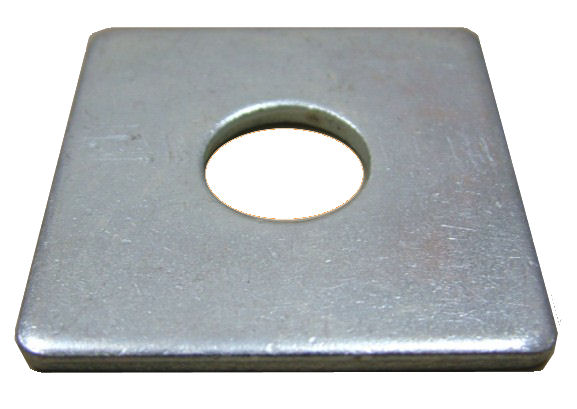 Square Plate Washers - BZP