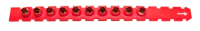 Nail Gun Cartridges - Red (High Power)