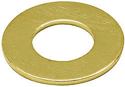 Brass Flat Washers (Form A) M4