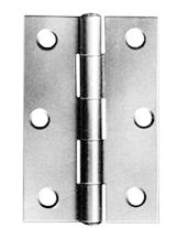 "Butt Hinges Zinc Plated 25mm (1"")"