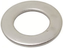 A2 Stainless Steel Flat Washers (Form B) M4